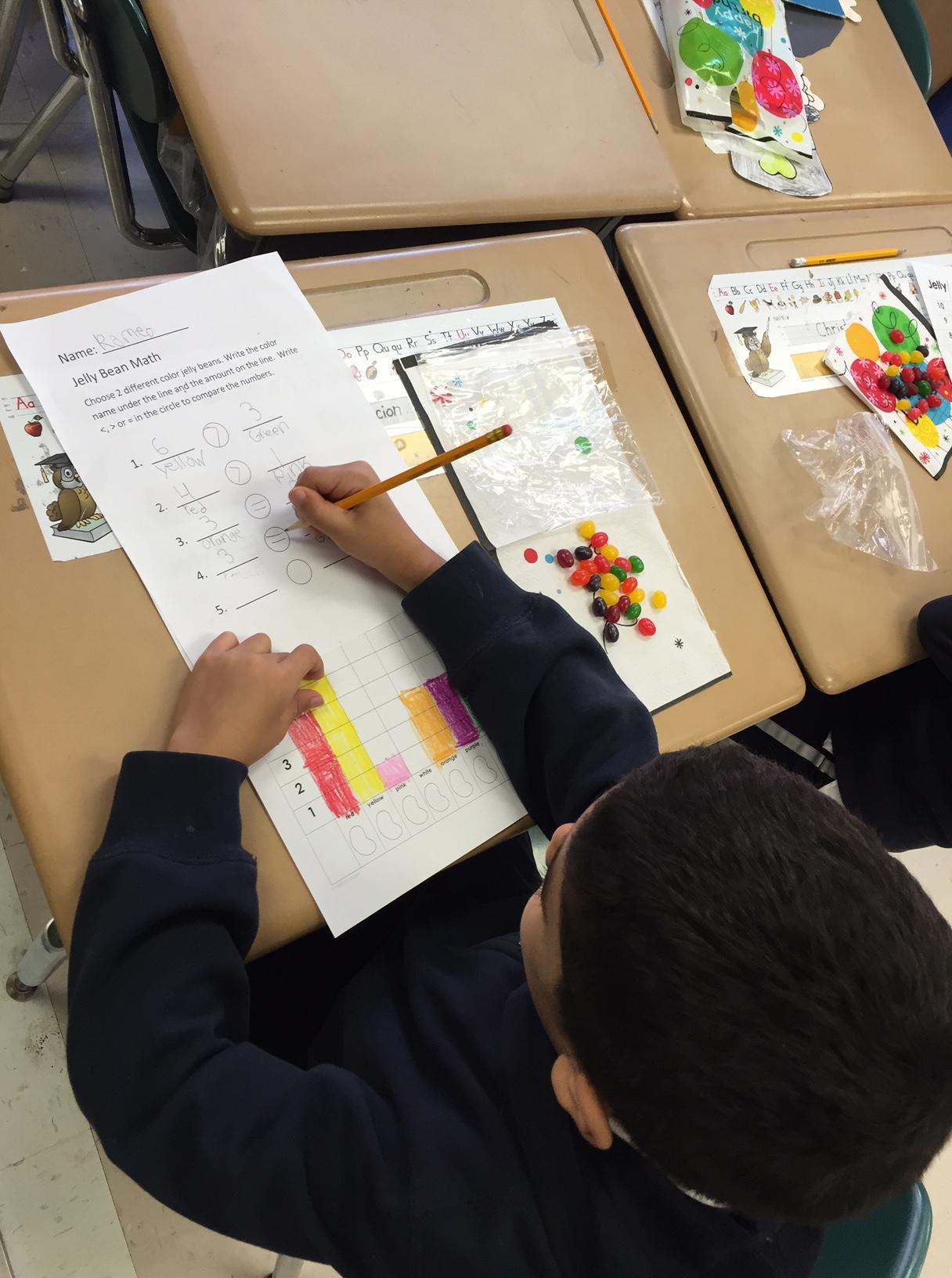 1st Grade Jelly Bean Math P S 135q