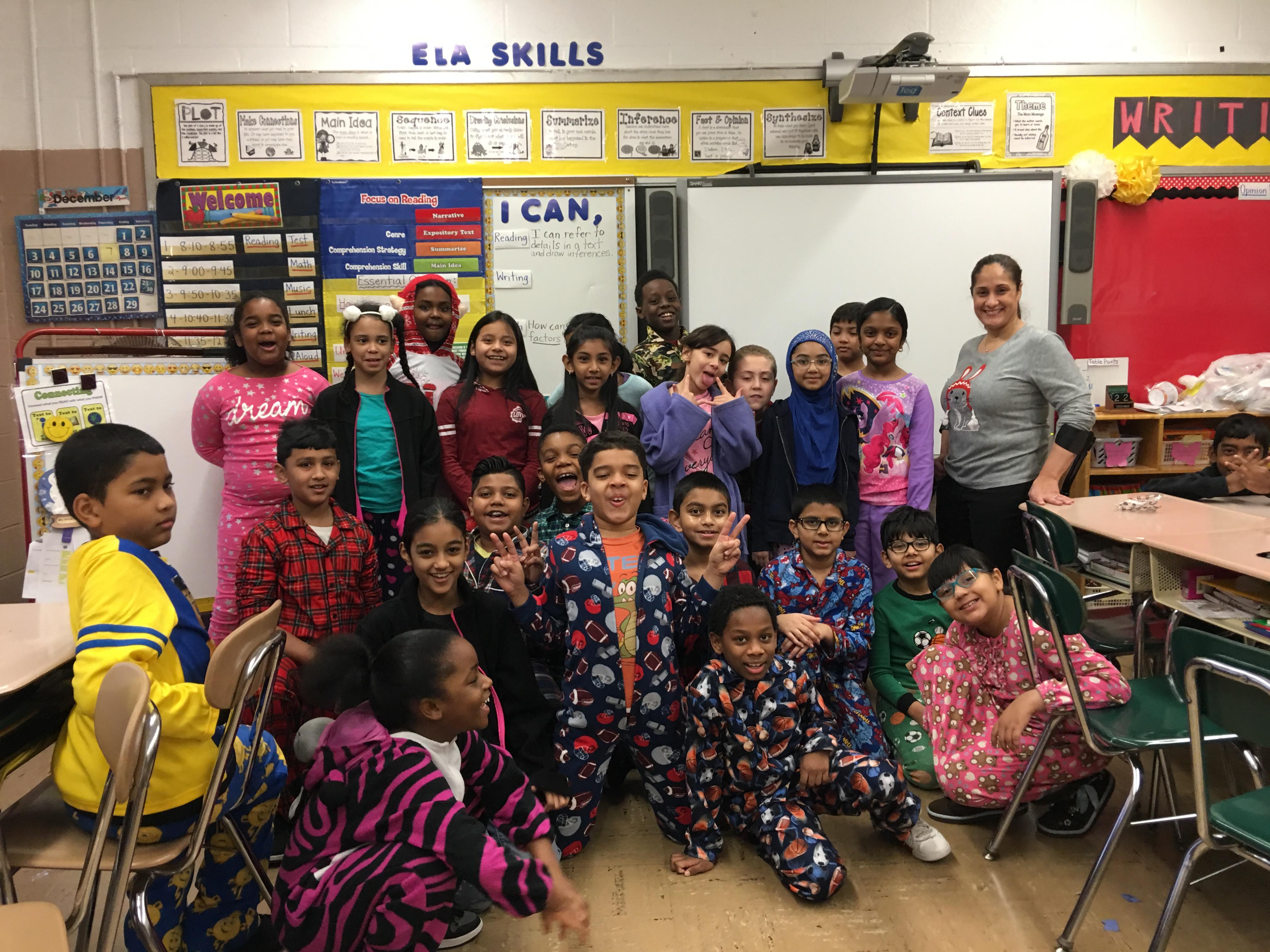 Pajama Day Ms Cruz S Classroom P S 135q