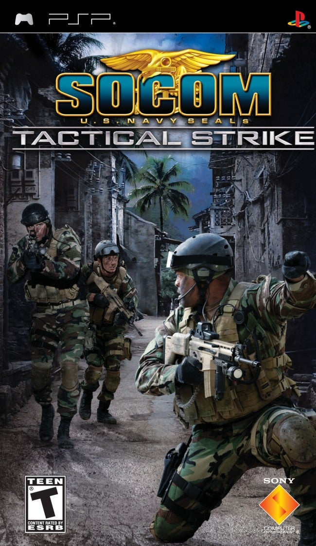 SOCOM US Navy SEALs Tactical Strike Review IGN