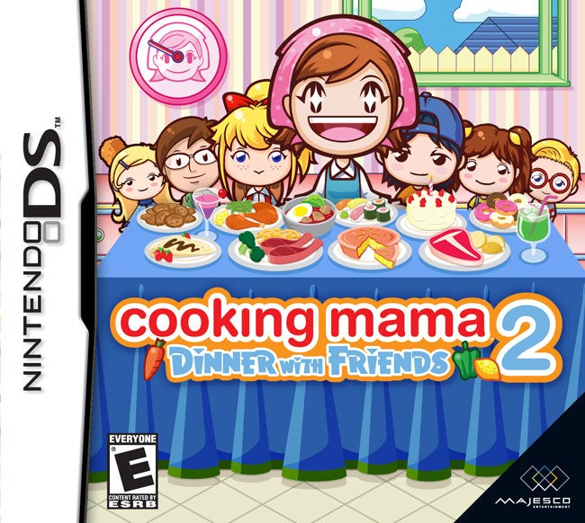 Cooking Mama 2 Dinner With Friends Review IGN
