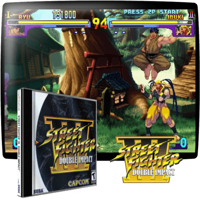 Street Fighter 3 — Double Impact