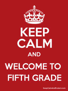 Sign Up for the 5th Grade Email List