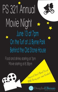 PS 321's First Annual Outdoor Movie Night