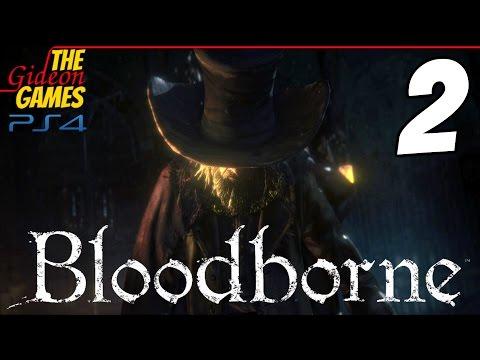 Прохождение Bloodborne на Русском HDPS4 — Часть 2 (Факельное шествие)