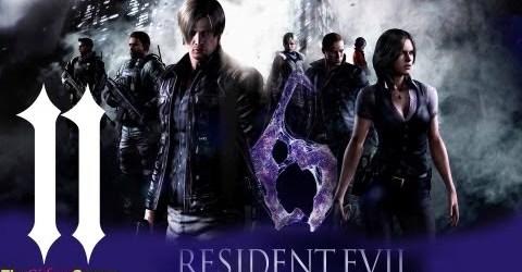 Прохождение Resident Evil 6: Леон — Часть 11 (Пушок)