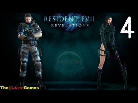 Прохождение Resident Evil: Revelations HD — 4 (Эпизод 3: «Призраки Вельтро». Часть 1)