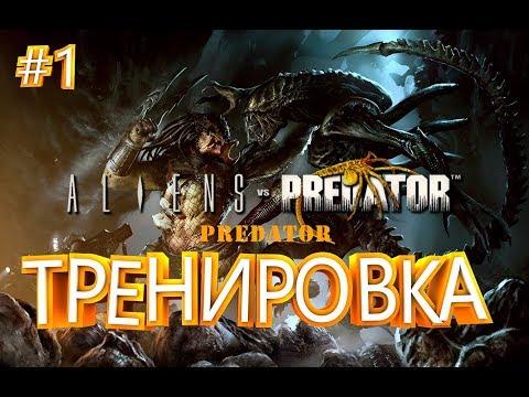 ОБУЧЕНИЕ ► Aliens vs Predator ► Predator #1