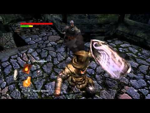 Dark Souls (прохождение)  — Как убить чёрного рыцаря в городе нежити 151122-1
