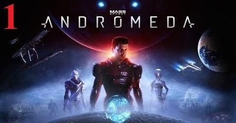 Прохождение Mass Effect Andromeda 1 серия