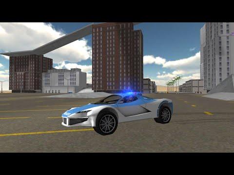 Полицейская Машина. Мультик для Детей.  Тренировочная полоса Полицейских. Police Car 2016