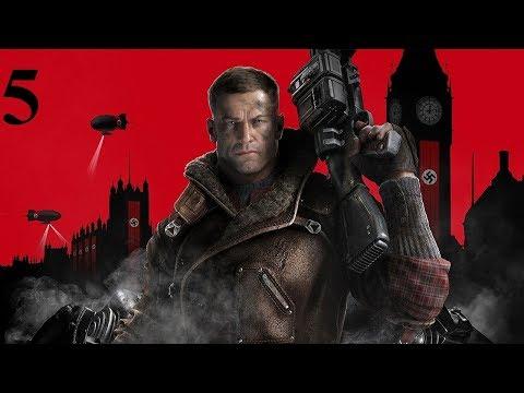 Прохождение Wolfenstein 2 The New Colossus 2017 5 серия