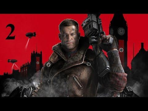 Прохождение Wolfenstein 2 The New Colossus 2017 2 серия