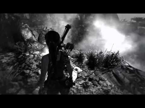 Tomb Raider (все гробницы и тайники) и коментарии ребёнка. 160108-1