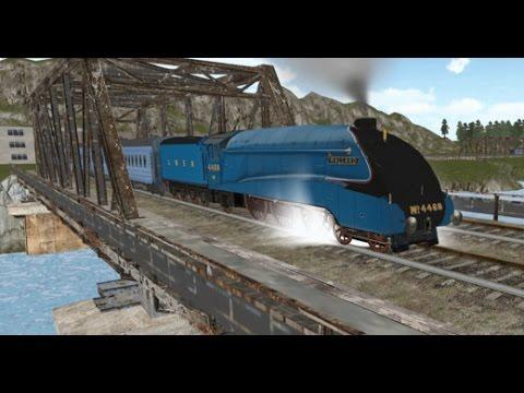 Train Simulator 2016  Паровозики Видео для Детей. Грузовой поезд, Интерсити