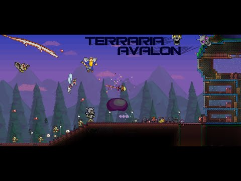 Lets Play Terraria AVALON #2 Джунгли и глаз Ктулху