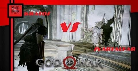 Бой с Свартальефурр в God of War 4   На высоком уровне сложности