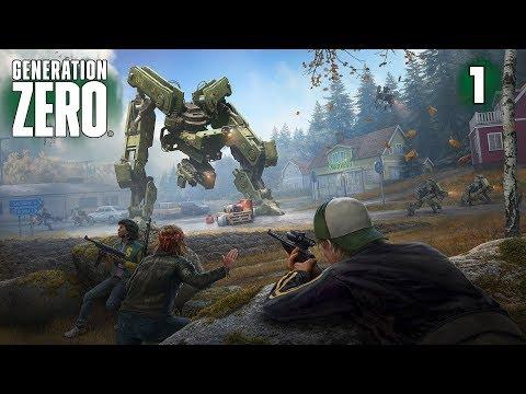 Generation Zero Прохождение игры на русском  ➤ Выживание в открытом мире ➤Стрим — Часть 1