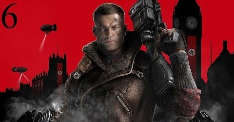 Прохождение Wolfenstein 2 The New Colossus 2017 6 серия