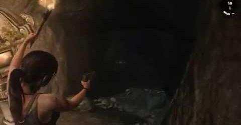 Tomb Raider (прохождение) — Как убить волка в пещере