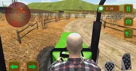 Трактор. Перевозка Грузов на Ферме. Видео для Детей. Симулятор 2016