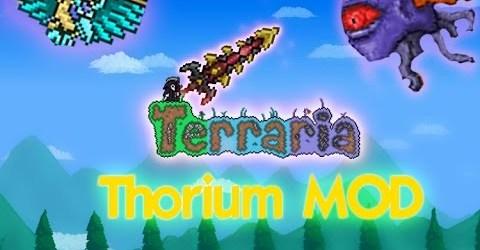 Lets Play Terraria Thorium Mod #1 Сразу новый шмот!