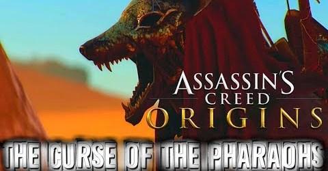 ASSASSIN'S CREED: ORIGINS DLC ПРОКЛЯТИЕ ФАРАОНОВ ПРОХОЖДЕНИЕ ТЕНЬ АНУБИСА
