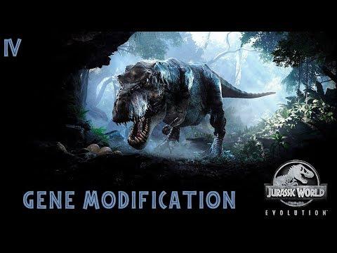 Прохождение Jurassic World Evolution #4 модификация генов