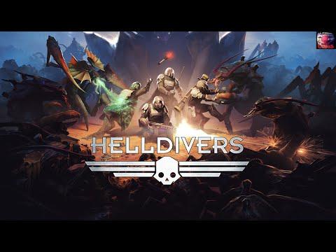 HELLDIVERS-Система Просветленных(Плохое настроение/10 сложность)