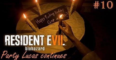 ВЕЧЕРИНКА ЛУКАСА ПРОДОЛЖАЕТСЯ ► Resident Evil 7 Biohazard #10