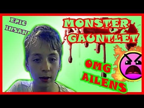 MONSTER GAUNTLET/ OMG AILENS(EPIC INSANE 8 ЗВЁЗД)/GEOMETRY DASH/75FPS/75 ГЕРЦ/NO HACKS