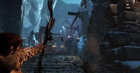 Rise of the Tomb Raider — Чертог стражей — Ледяной утёс — Рубеж Китежа