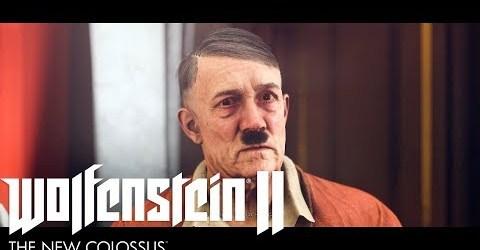 WOLFENSTEIN II: THE NEW COLOSSUS #11. КАСТИНГ У ГИТЛЕРА.