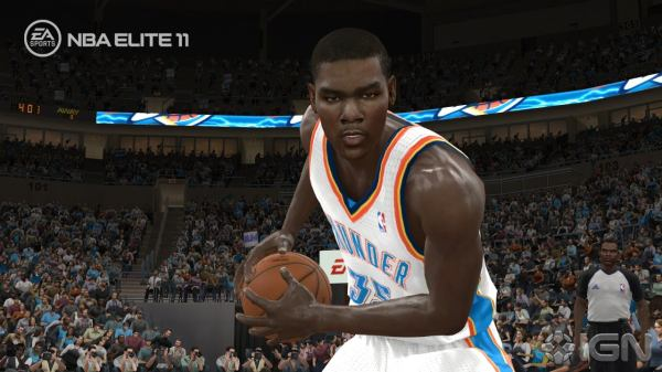 NBA Elite 11 Kevin Durant Screenshot Operation Sports