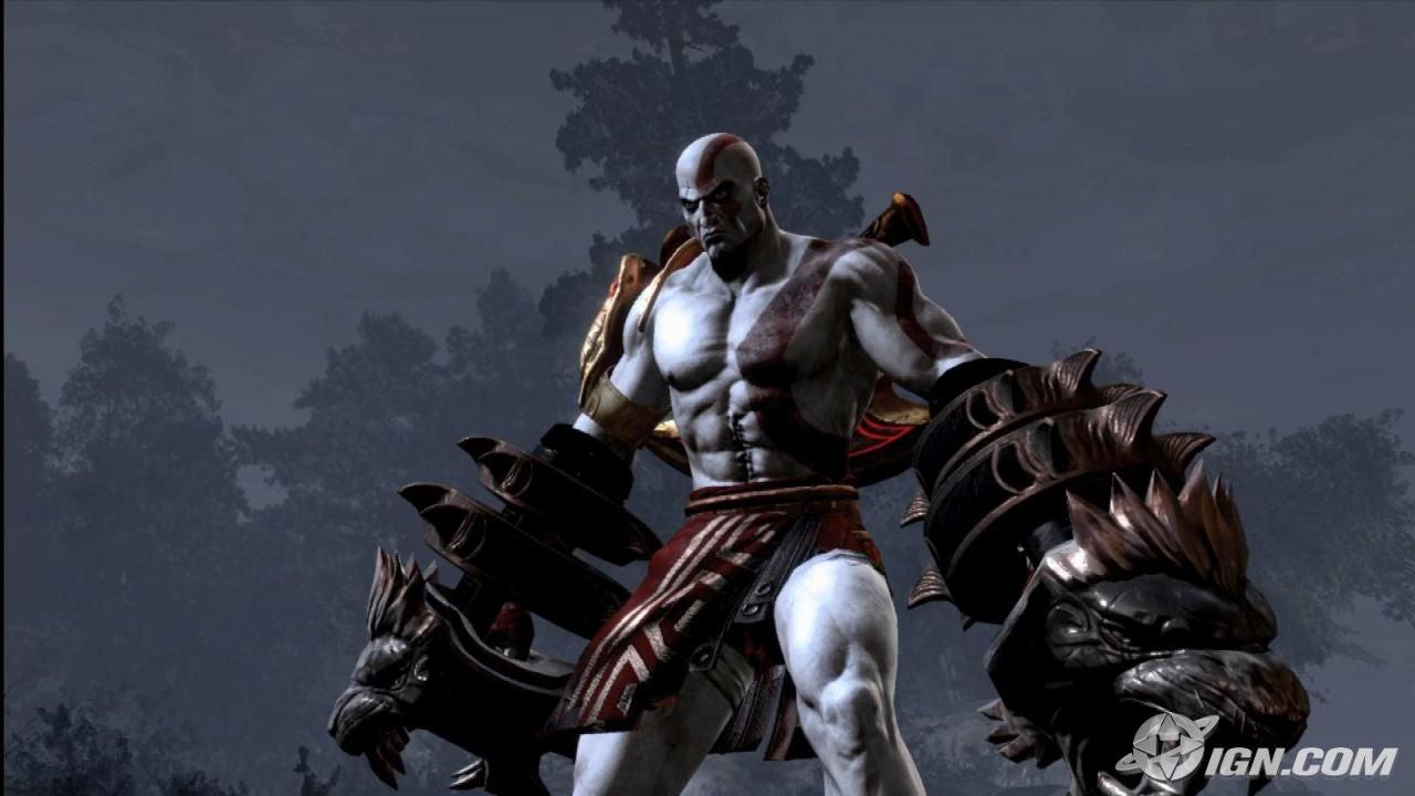 Kratos. Man, he's scary