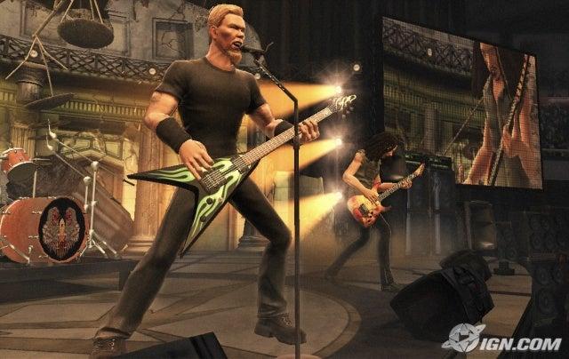 James from Guitar Hero: Metallica