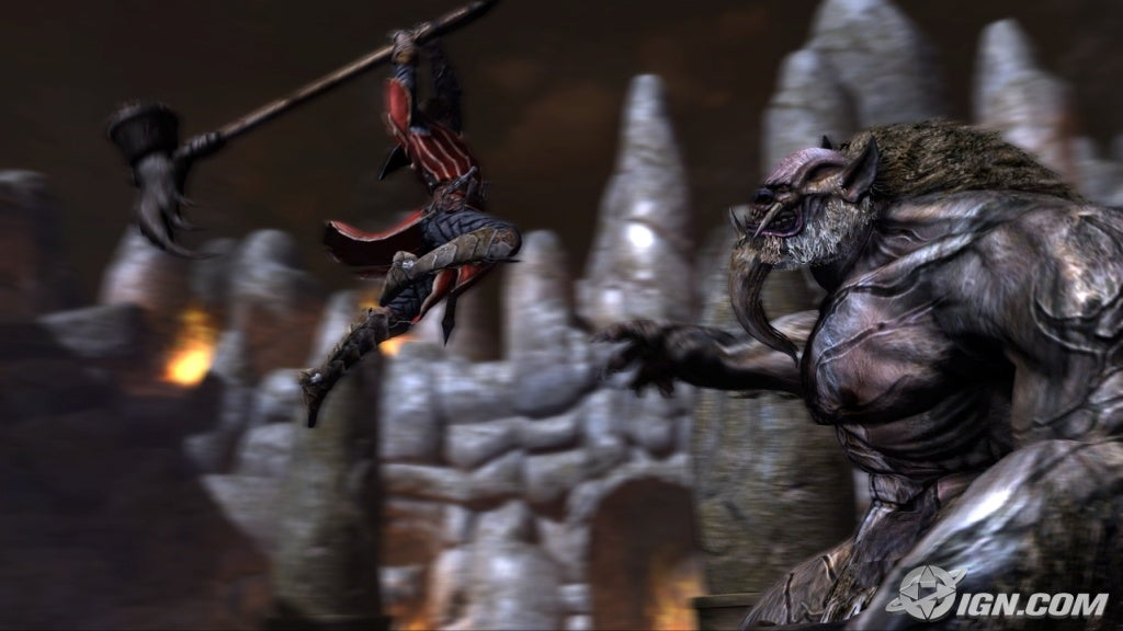 Gabriel vs. Cornell - Lycan Lord of Shadow