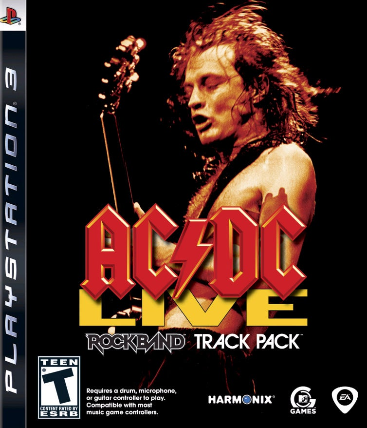 ACDC Live Rock Band Track Pack PlayStation 3 IGN
