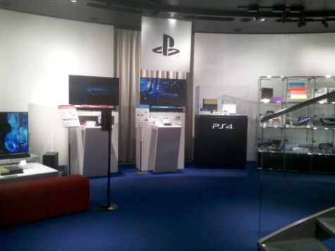 playstation showroom sony building