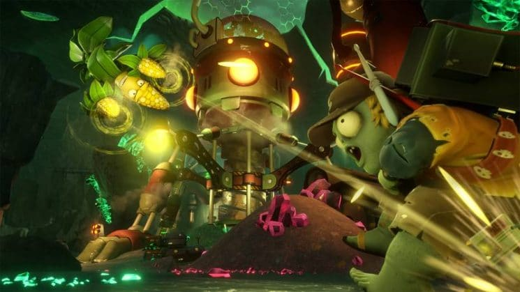 Test de plants vs zombies garden warfare 2 sur ps4 for Plante vs zombie garden warfare 2