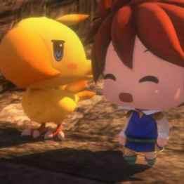 World of Final Fantasy - Chocobo et héro