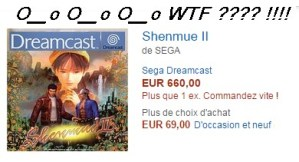 Spéculation sur Shenmue 2 version Dreamcast