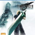 Couverture PS4 de Final Fantasy 7 remake