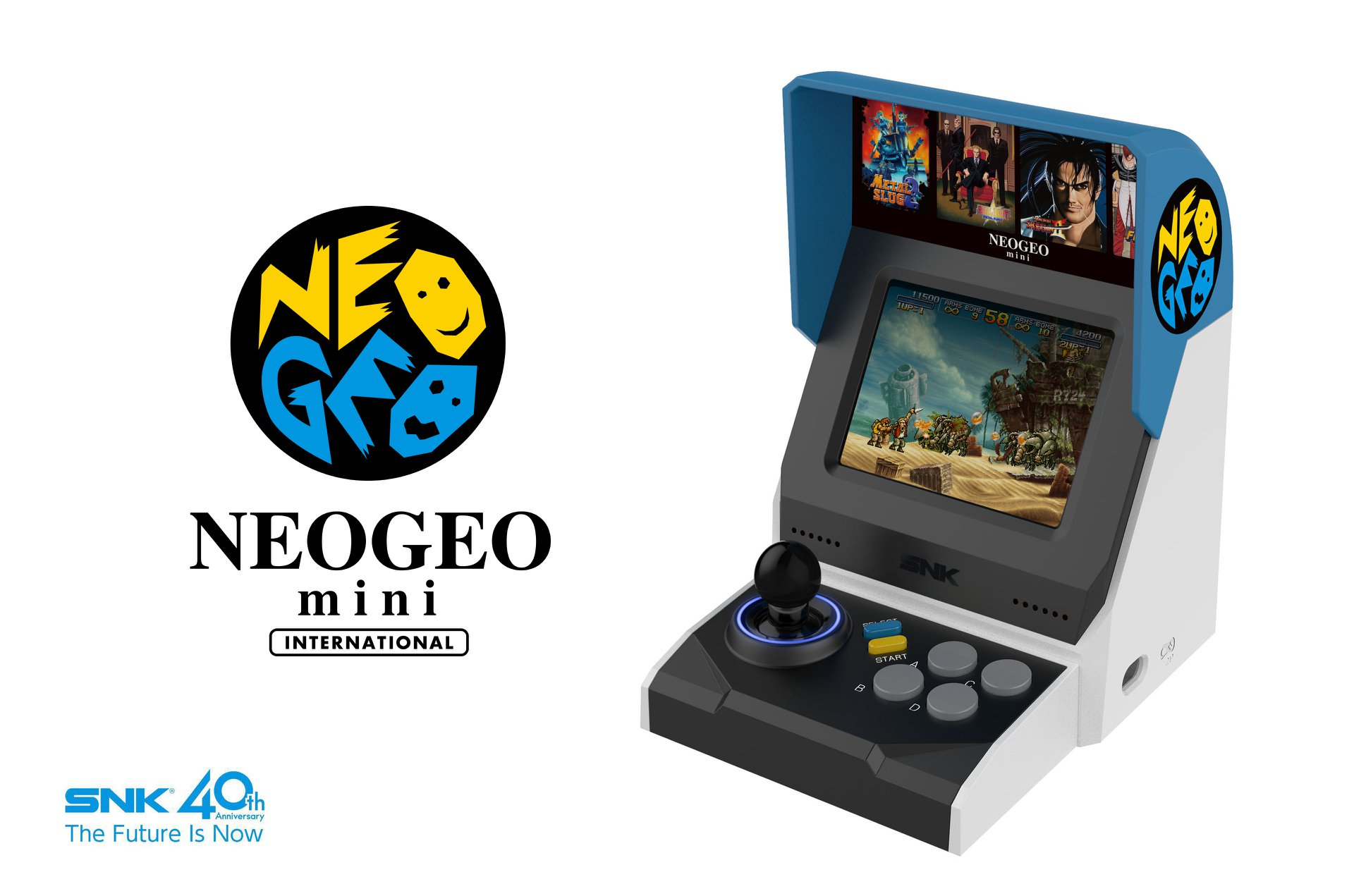 Comment hacker sa NeoGeo Mini ?