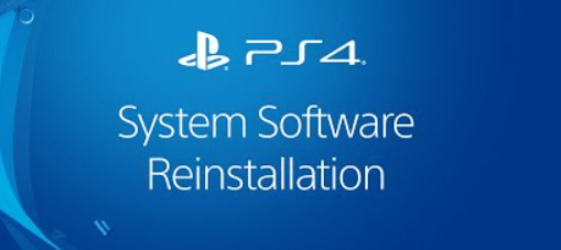 Reinstall the System Software