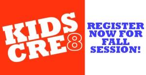 Kids Cre8 Registration Image