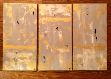 Holy, Holy, Holy: Abstract Triptych