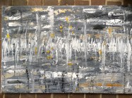 24 x 36 Acrylic abstract