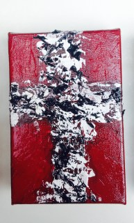 Bama Cross-College Collection 4 x 6 Box Canvas