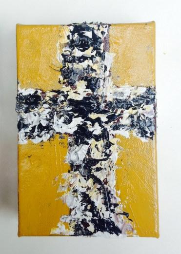 Birmingham Southern or Vanderbilt Cross-College Collection 4 x 6 Box Canvas