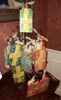 A Christmas Tree of Crosses